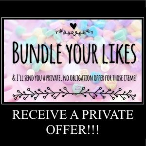 Other - Bundle Your Items & Receive A Private Offer!